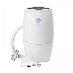 2010, eSpring Water Purifier Above Counter Unit with Diverter Kit, US, Product Image